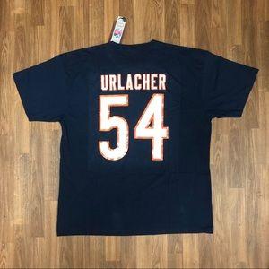 🏈 NWT Mitchell & Ness Urlacher Chicago Bears Tee